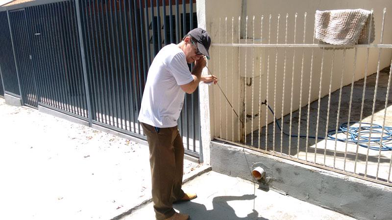 Nova bomba d´água é instalada no poço da Rua Eduardo Alves Ferreira no bairro Nova Tanabi. Trabalho para a detecção e concerto de vazamentos na rede de água do bairro Jardim Centenário já começou