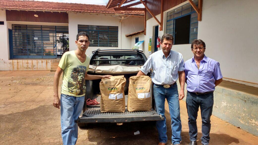 Trabalhos prestados pela Secretaria de Agricultura de Tanabi