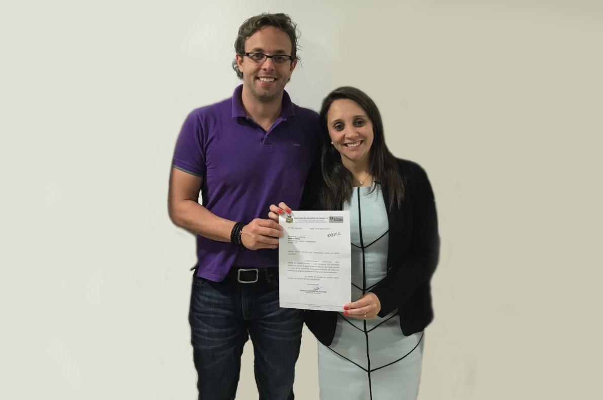 Vereador Rodrigo Bechara consegue 150 mil reais de emenda para o Esporte