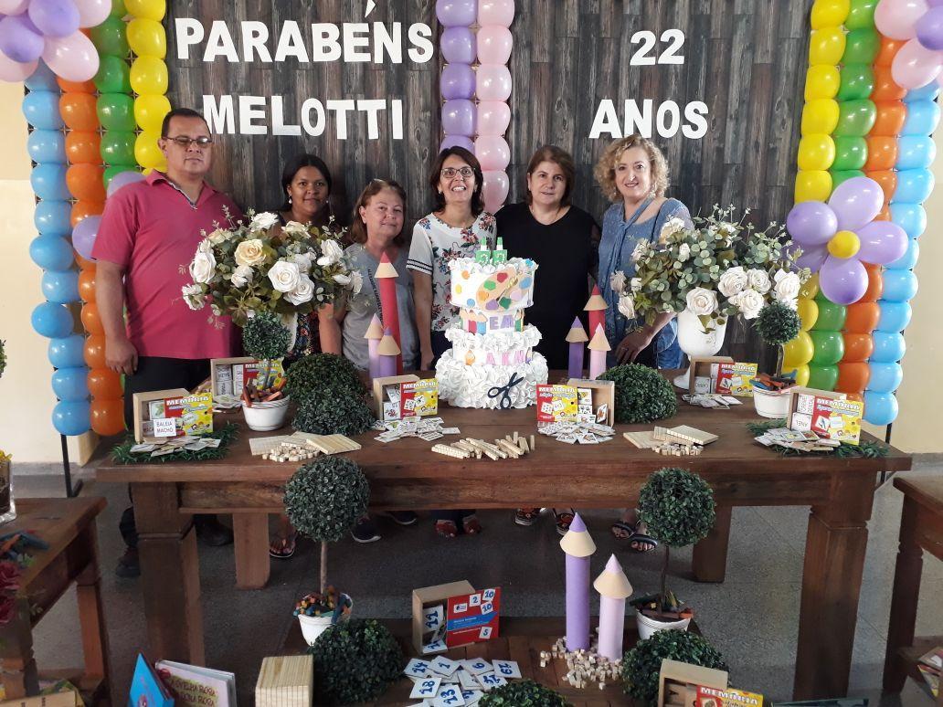 Escola Municipal Alexandre Kannebley Melotti está completando 22 anos