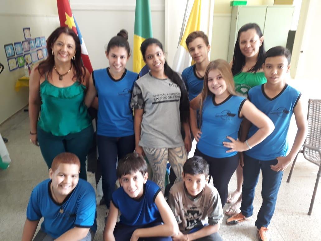"Noticia da ""Escola Municipal Marciano Maciel da Silva"" Do bairro de Ibiporanga"