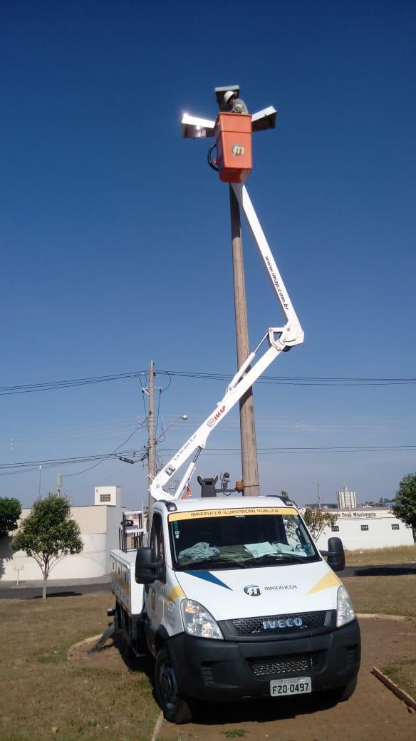 Prefeitura investe em mais uma etapa de revitalização da iluminação pública em Tanabi