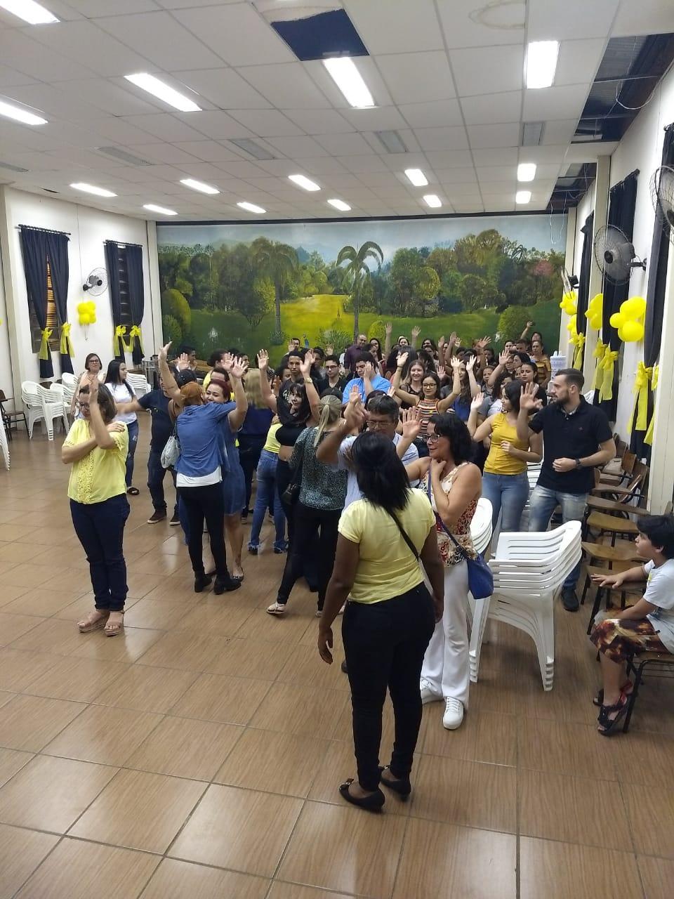 """Secretaria Municipal de Saúde realizou na última sexta-feira (28) palestra com o tema """"Viver é sempre a melhor alternativa"""""""