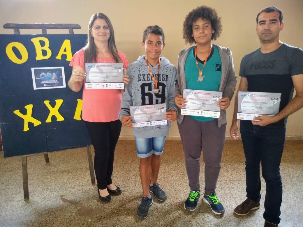 """Premiação XXI OBA - 2018 - E.M. """"José Serafim da Silva"""""""