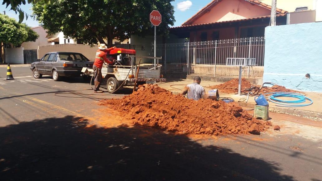 A Prefeitura finalizou esta semana a construção das bases de sustentação do novo reservatório de água na Zona Norte da cidade
