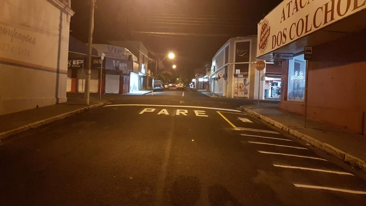Trabalhos de revitalização da sinalização de trânsito em Tanabi seguem para reta final