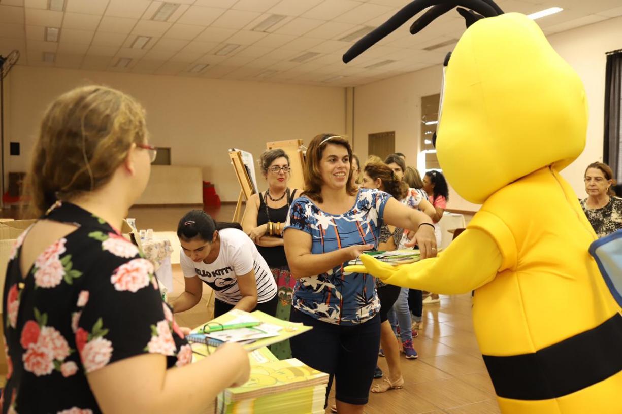 Educadores do município participam da primeira formação do Programa A União Faz a Vida
