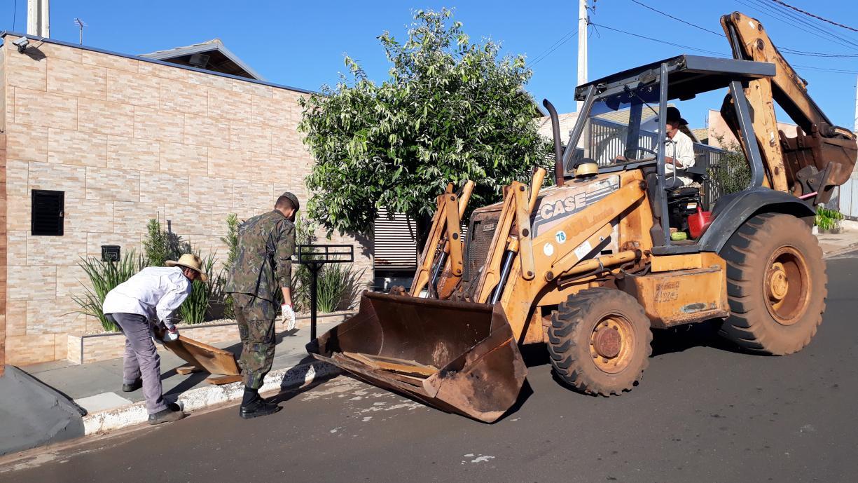 Saúde e SUCEN estão realizando mais um Arrastão da Limpeza em todos os bairros de Tanabi