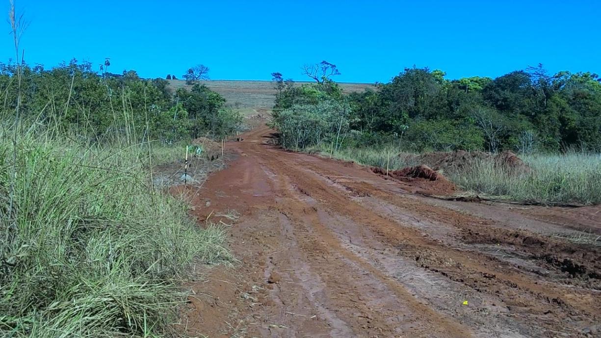 Estrada municipal que liga os bairros do Ecatu e Rincão, desativada há quase 20 anos, está novamente aberta ao tráfego de veículos