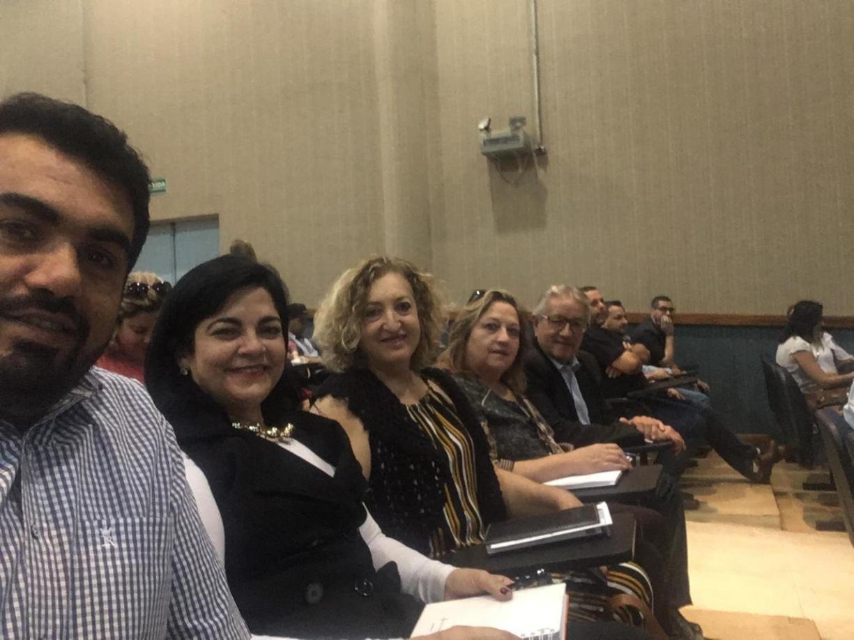 Prefeito Norair, Saúde, Educação e Assistência Social do nosso município participaram da Conferência do Tribunal de Contas do Estado