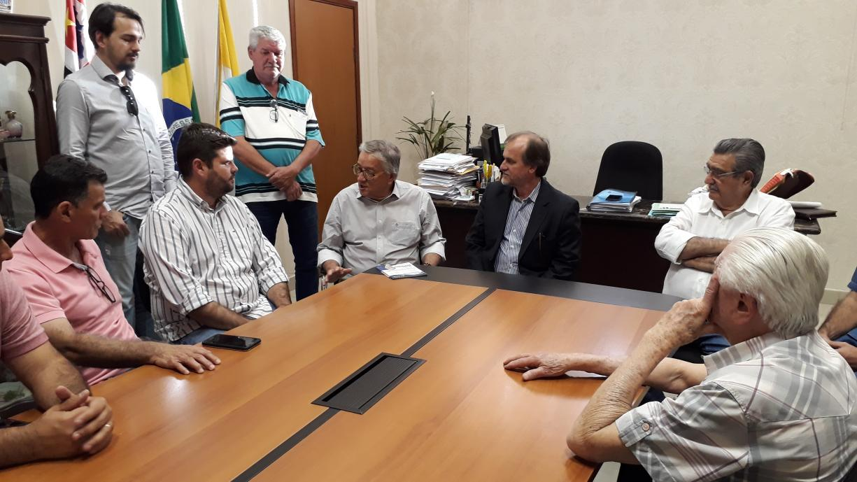 Em visita a Tanabi Deputado Dirceu Dalben anunciou verba de 300 mil para infraestrutura do novo Distrito Industrial