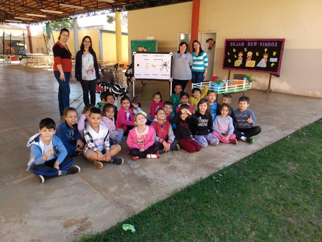 SUCEN Tanabi realiza palestra educativa de combate à dengue na CMEI Leonardo Balthazar Marão