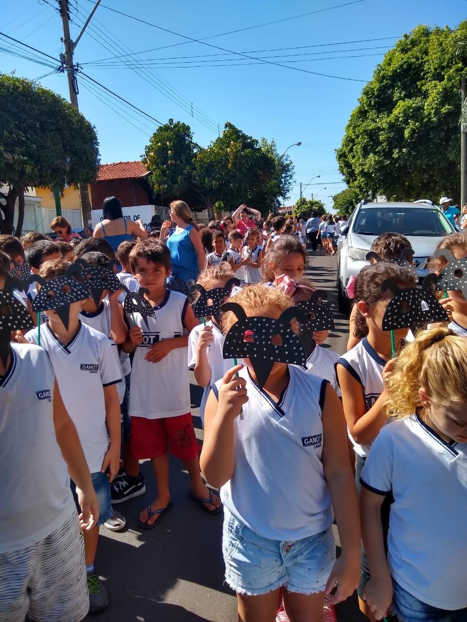 Palestras e passeatas mobilizam alunos contra a dengue