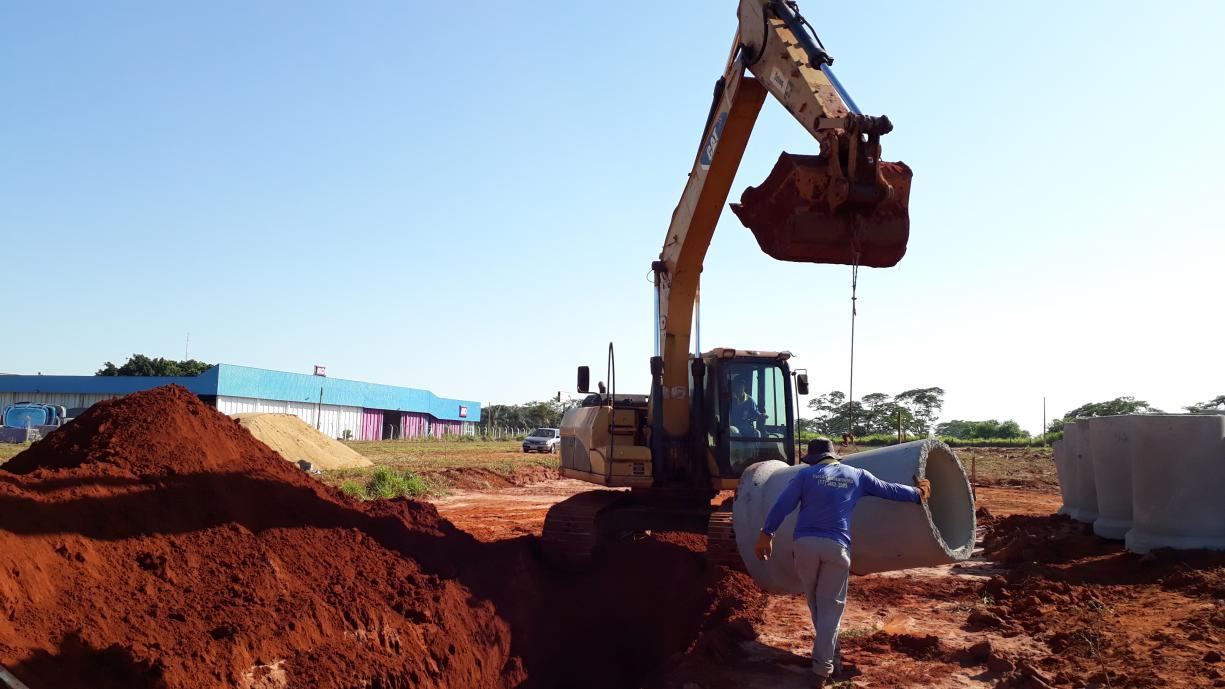 Obras de infraestrutura no novo Distrito Industrial de Tanabi já começaram