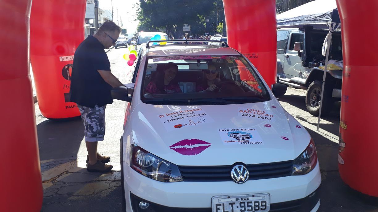 Fundo Social de Tanabi realizou no último domingo a 11ª edição do Rally do Batom