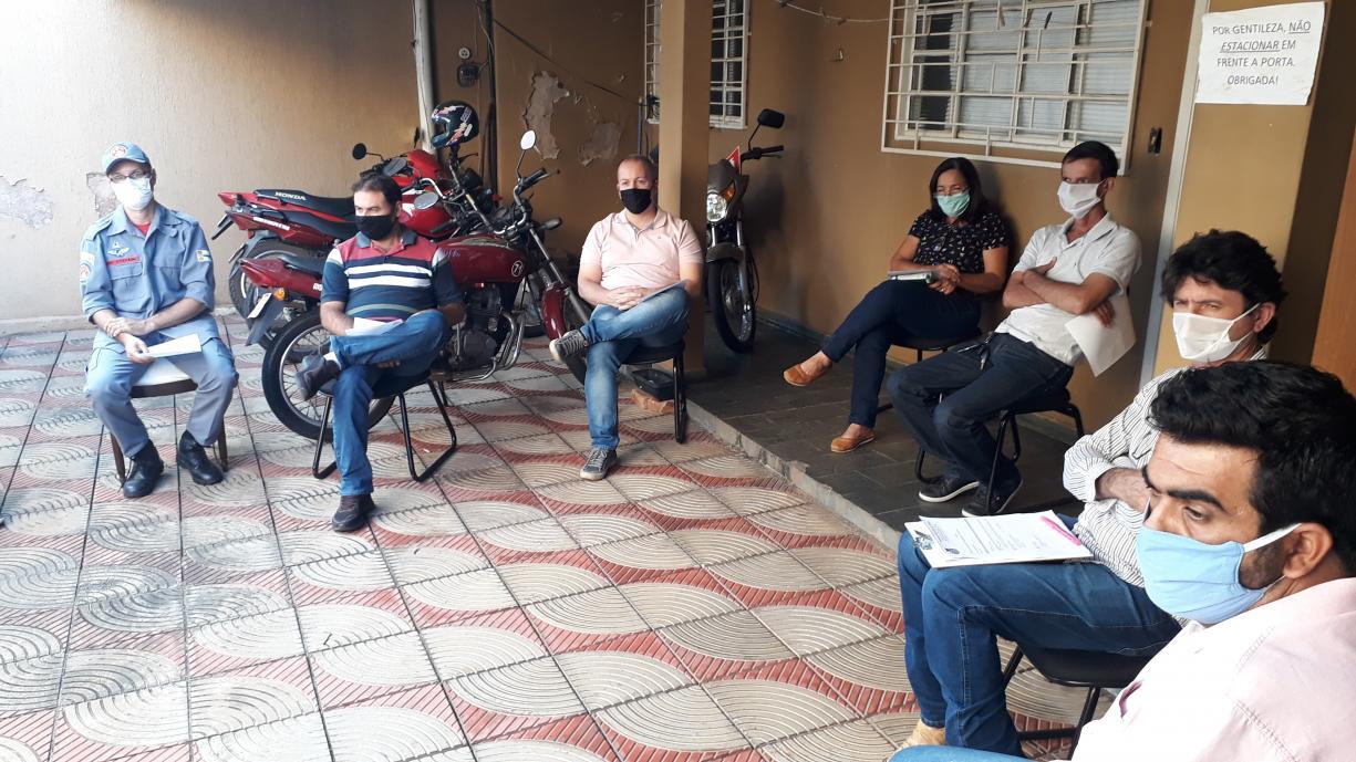 Comitê municipal de combate ao coronavírus em Tanabi se reuniu nesta sexta-feira