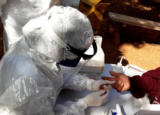 Testagem rápida para novo coronavírus em indivíduos com situação de vulnerabilidade social