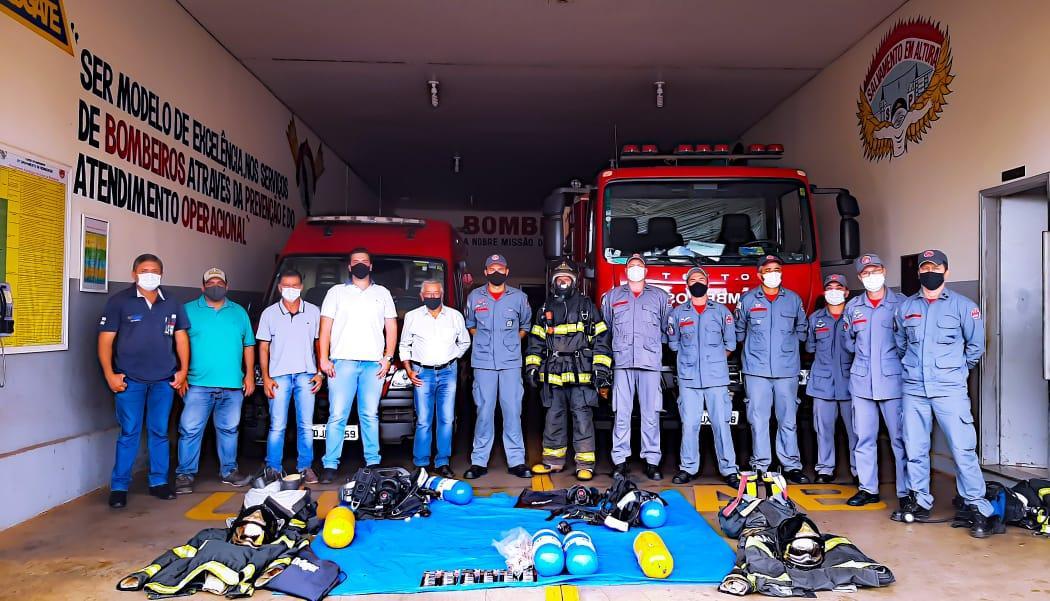 Corpo de Bombeiros de Tanabi recebem novos equipamentos para salvar vidas
