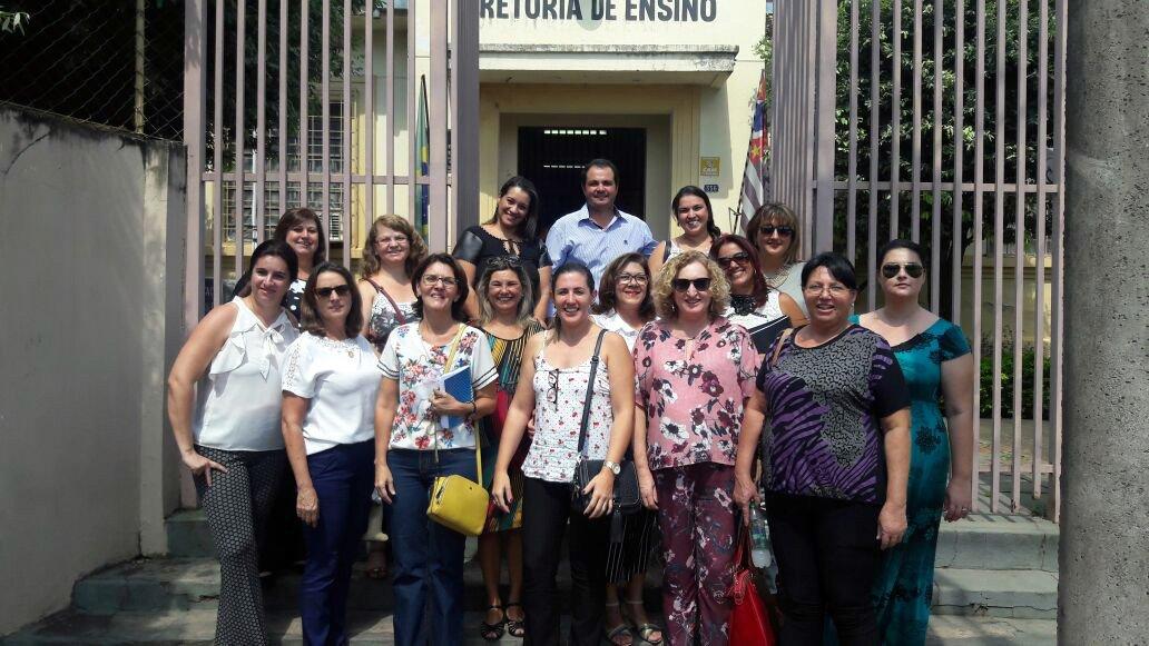 Diretores e coordenadores de escola do nosso município participaram do Encontro de Formação Continuada em José Bonifácio