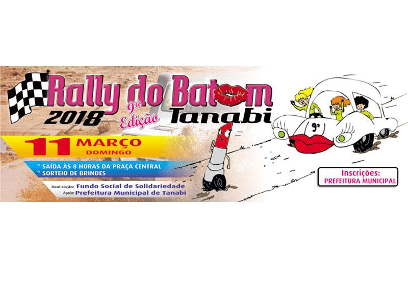 """Em homenagem ao """"Dia Internacional da Mulher"""" vem aí Rally do Batom 2018"""