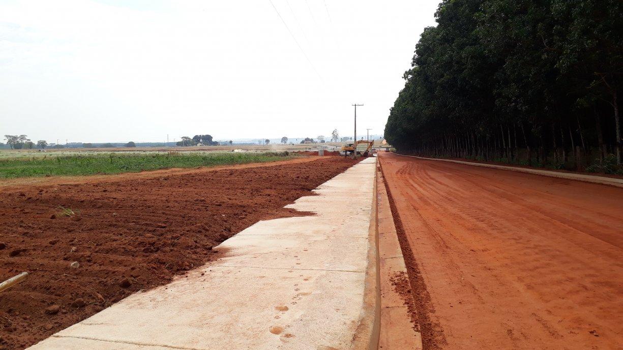 Obras na Rua Amazonas em Ecatu estão na fase final
