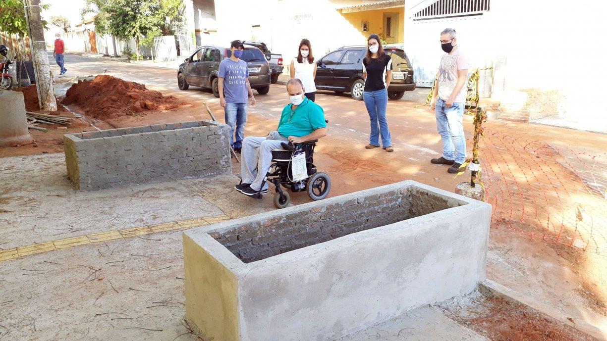 Pensando na qualidade de vida e integração, Prefeitura de Tanabi garante acessibilidade em calçadas da Coronel Militão