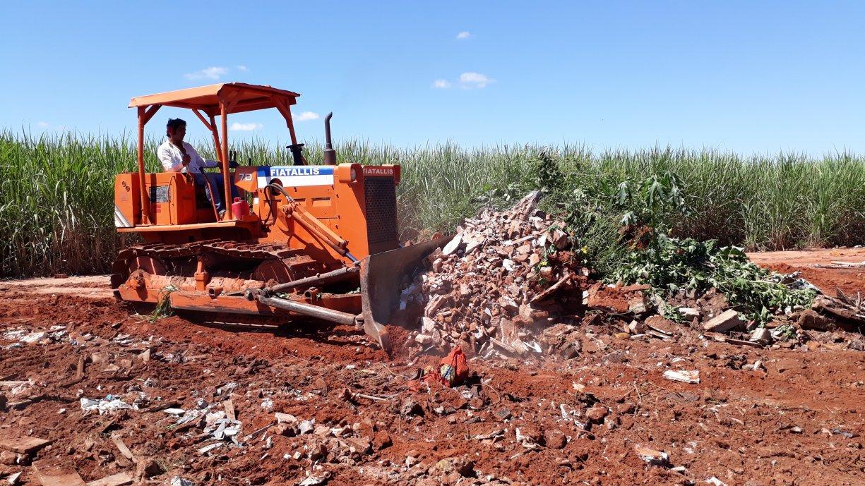 Prefeitura inicia execução de melhorias na estrada do Malhador