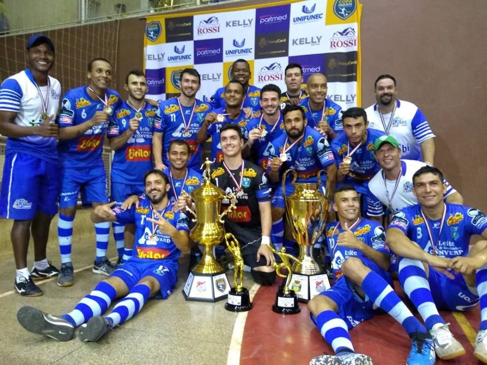 Equipe de Futsal de Tanabi é campeã da Copa Record 2018