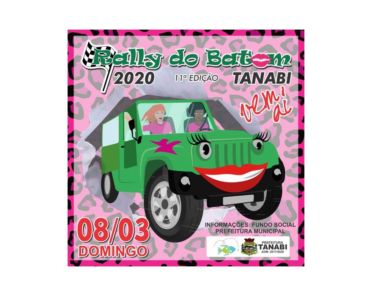 Vem aí o Rally do Batom 2020