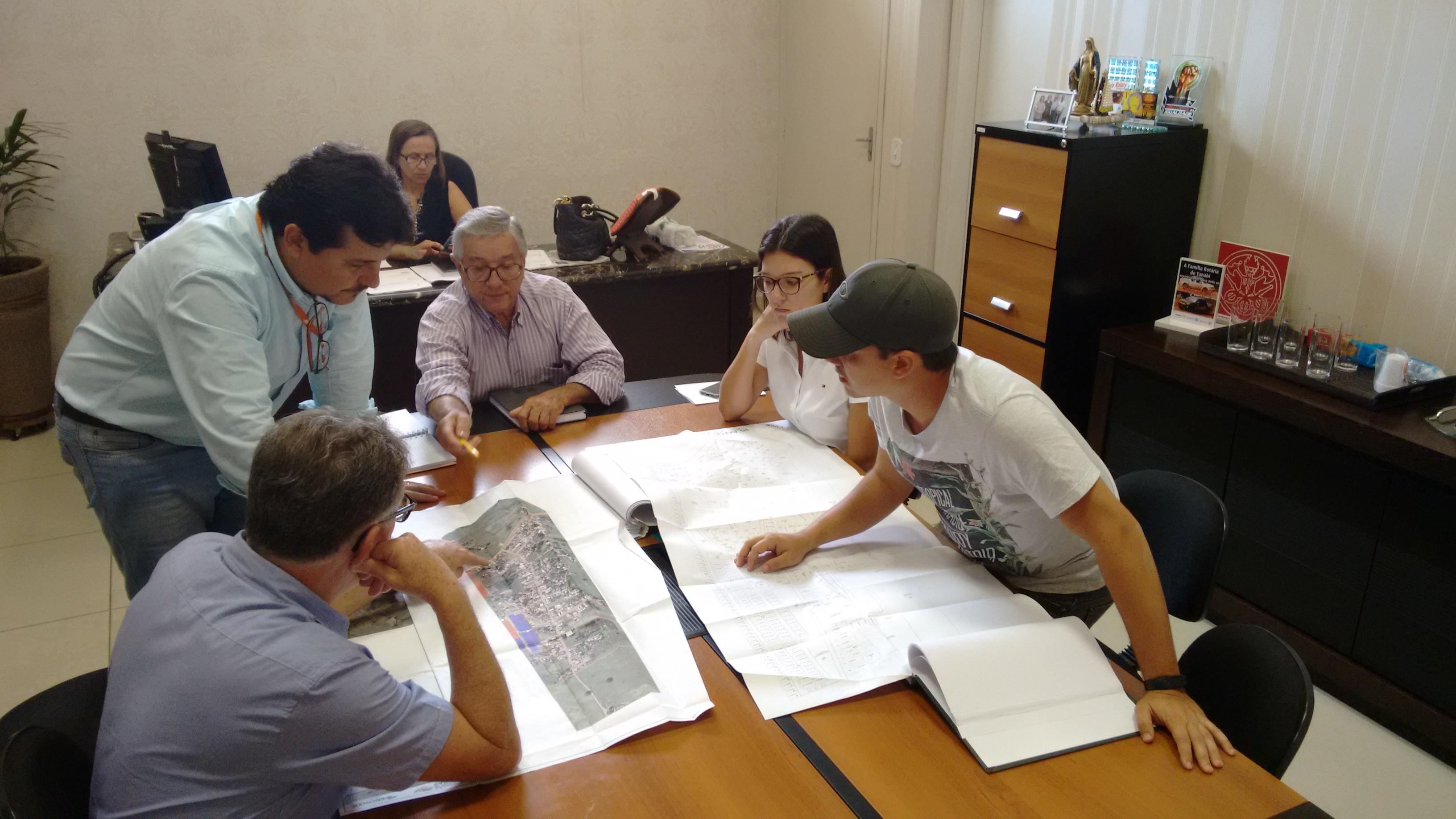 Prefeitura de Tanabi e ITESP iniciam levantamento topográfico para regularização do bairro Sitio do Estado