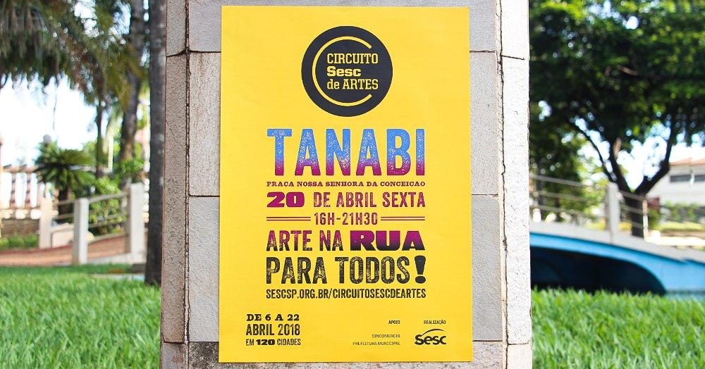 CIRCUITO SESC DE ARTES 2018 EM TANABI