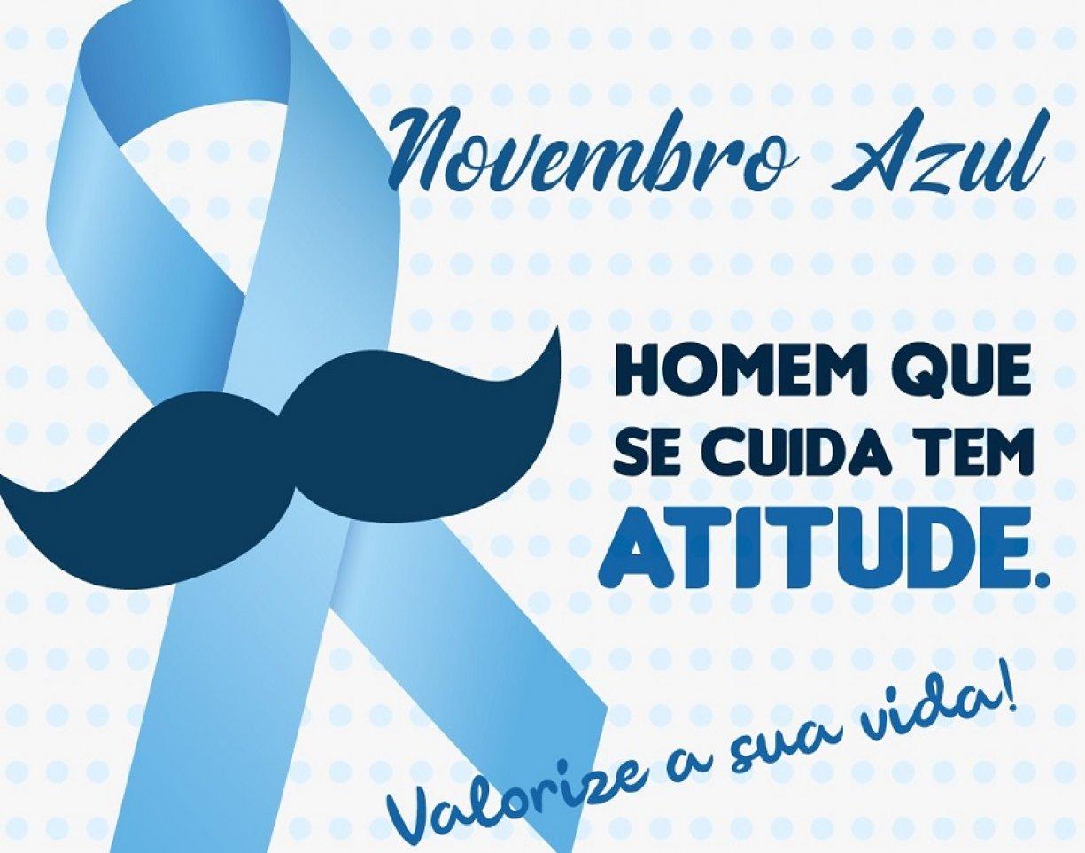 """Dia """"D"""" da Campanha - Novembro Azul acontece neste sábado dia 09"""