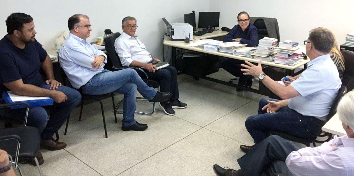 Prefeito Norair e ITESP esteve reunido na última terça-feira, dia 06, com o Procurador Regional do Estado Luis Carlos Gimenes para tratar dos últimos ajustes referentes à transferência dos documentos