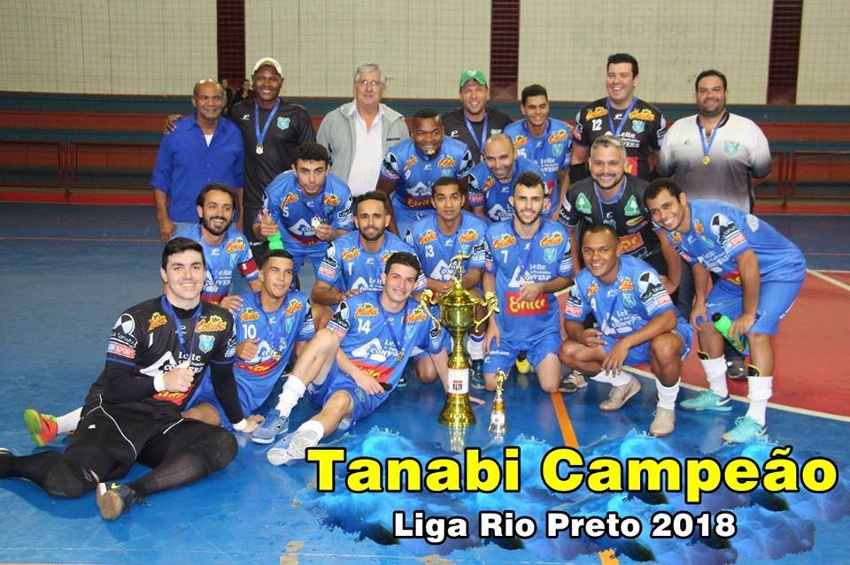 Equipe de futsal de Tanabi vence Potirendaba e é Campeã da Liga Riopretense
