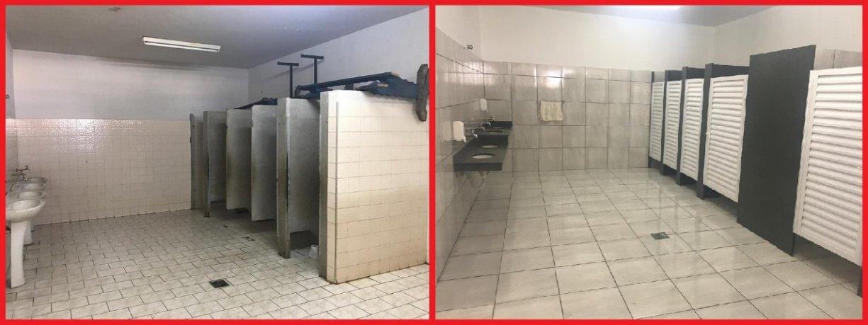 Prefeitura realiza reformas na escola municipal Thereza Magri do Carmo