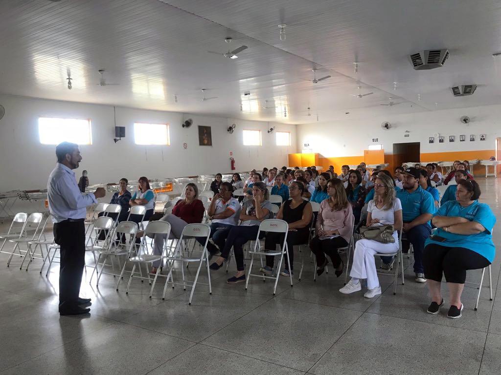 Saúde e SUCEN de Tanabi promoveram na manhã de hoje palestra sobre arboviroses