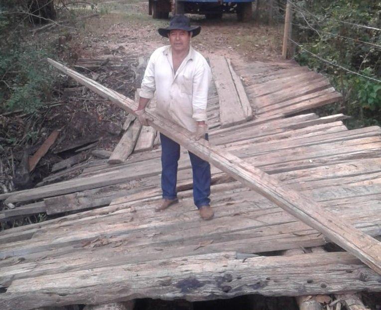 A Prefeitura esta revitalizando a ponte do Marcolino na Fortaleza