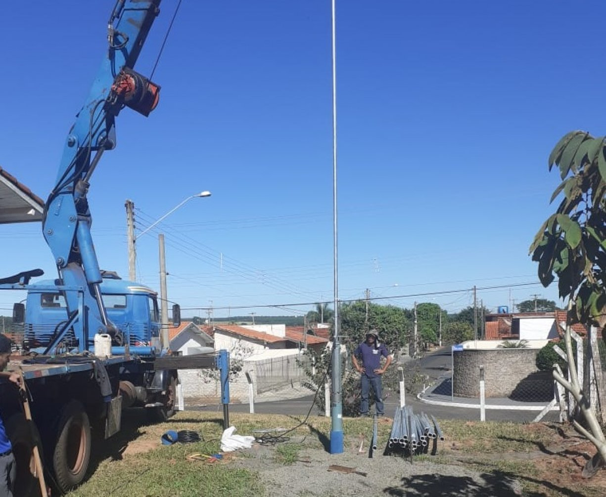 A Prefeitura concluiu esta semana a instalação da bomba d´água no novo poço artesiano da COHAB III