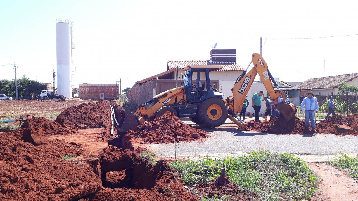 SAAT informa que novo reservatório deve entrar em operação neste final de semana para atender parte do bairro Nova Tanabi