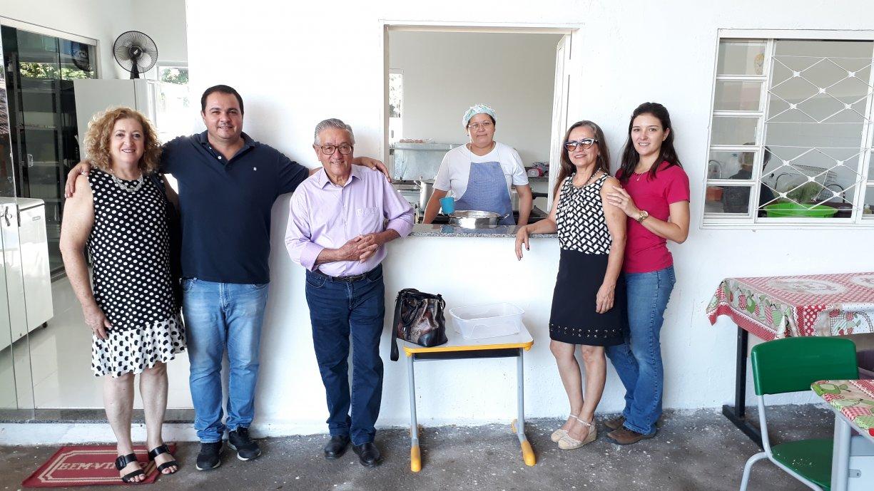 Obras de adaptação e reforma da cozinha da Escola Municipal Antônio Soares foram finalizadas
