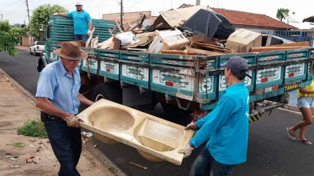 Nesta quinta-feira, dia 11, tem Arrastão da Limpeza em todos os bairros de Tanabi