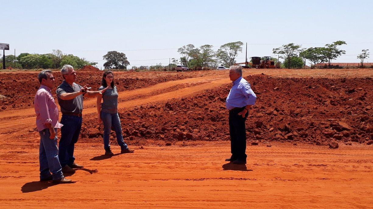 Prefeitura prepara terreno onde será construído o novo Distrito Industrial de Tanabi
