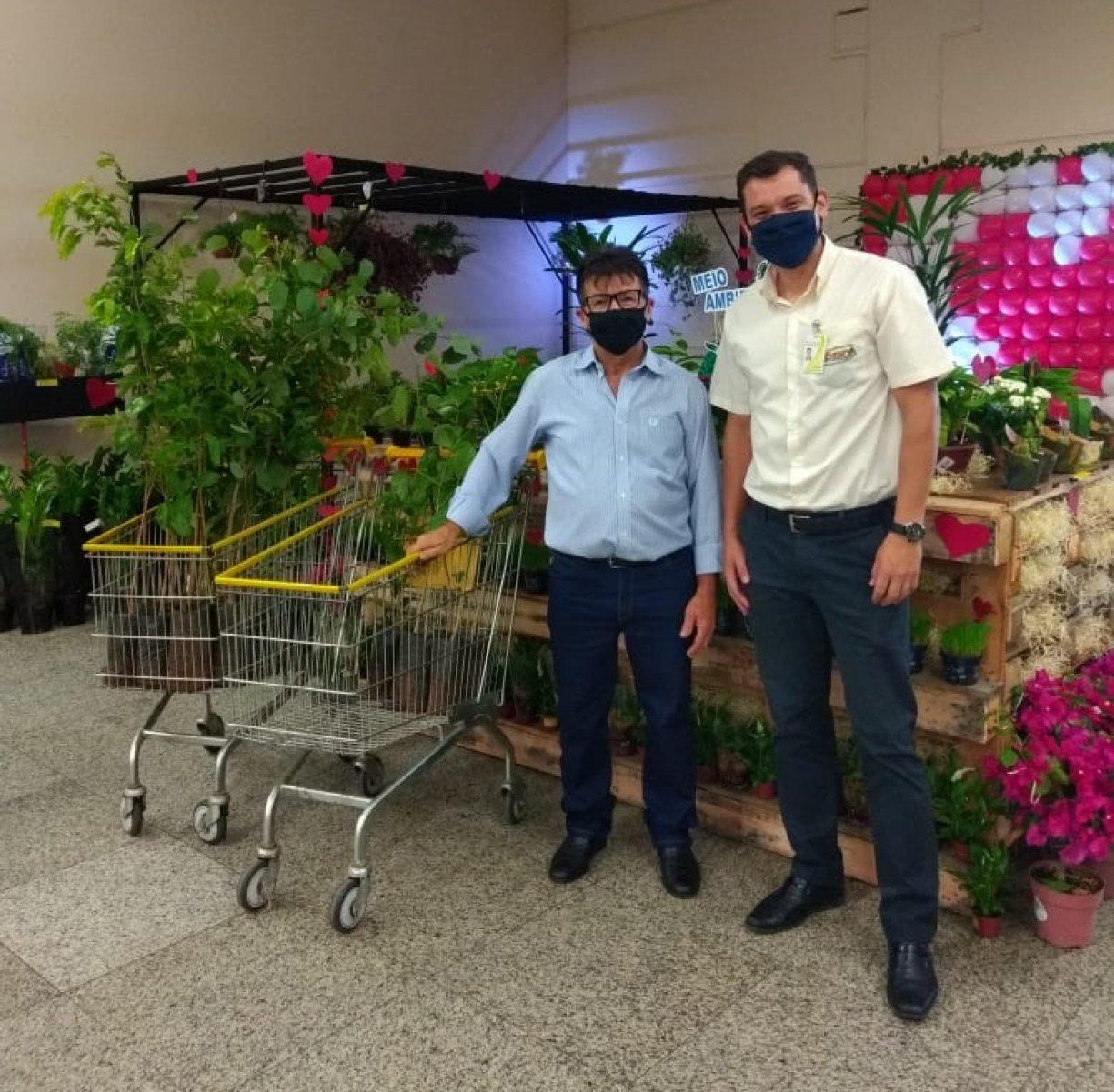 Prefeitura e Agricultura promovem ação para comemorar o Dia Mundial do Meio Ambiente