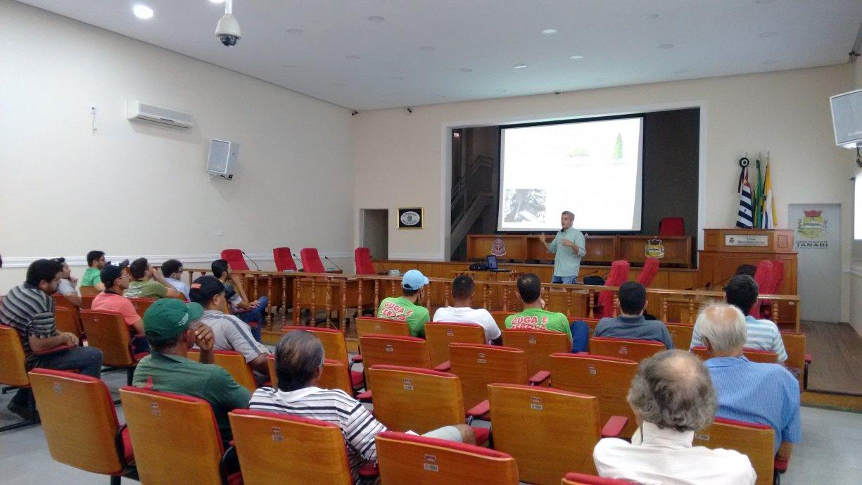 Agricultura e Meio Ambiente realizam hoje capacitação para podadores de árvores do município