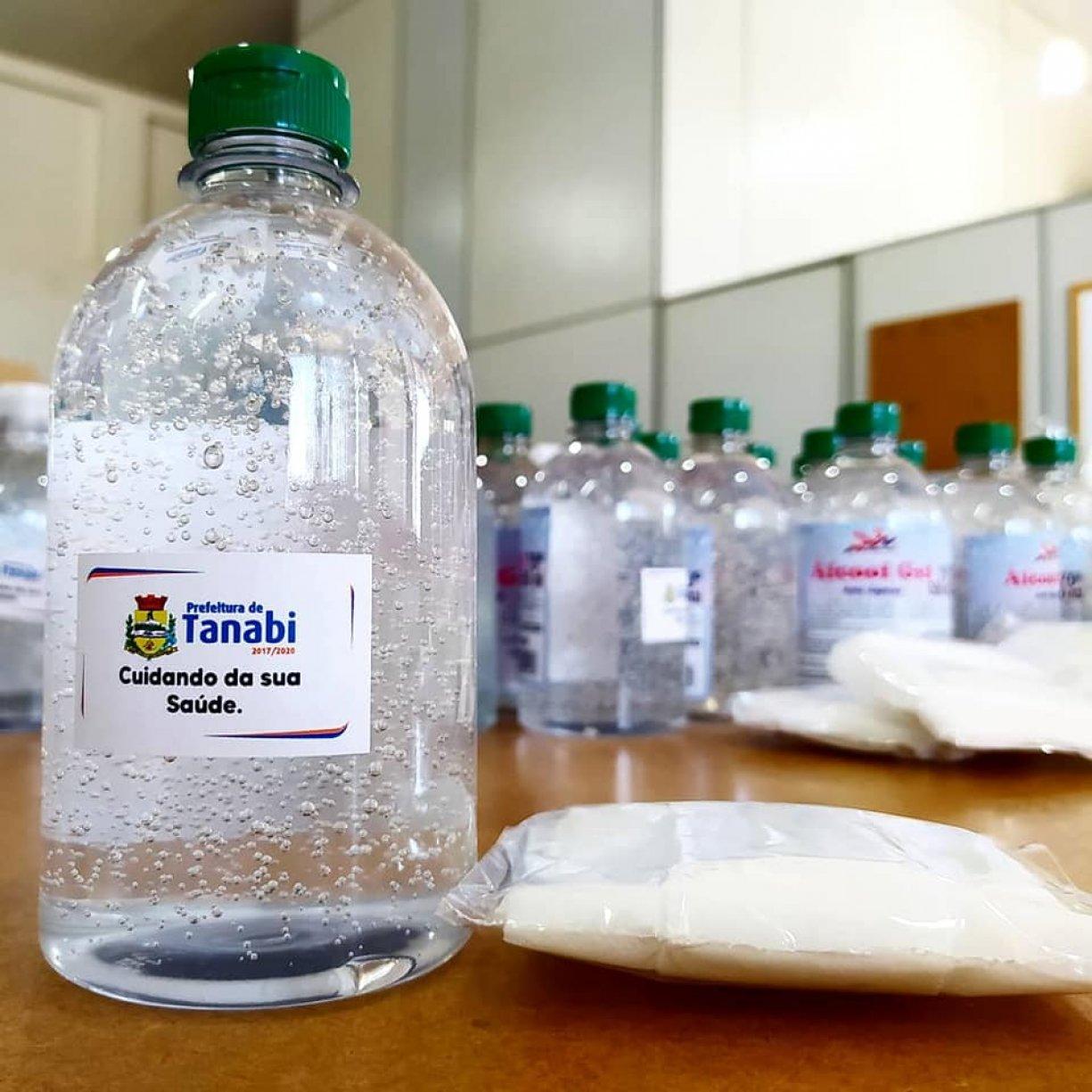 Prefeitura de Tanabi entregará máscaras e álcool gel nas residências