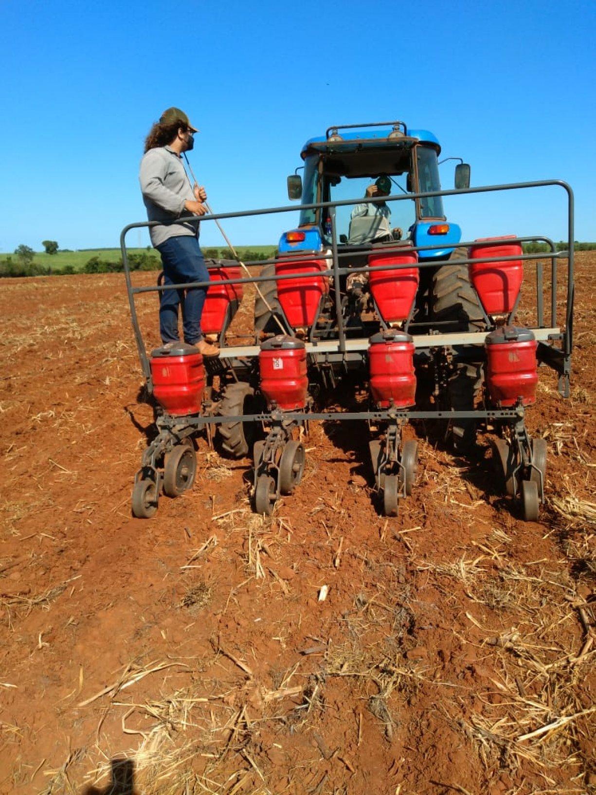 Secretaria de Agricultura em ação