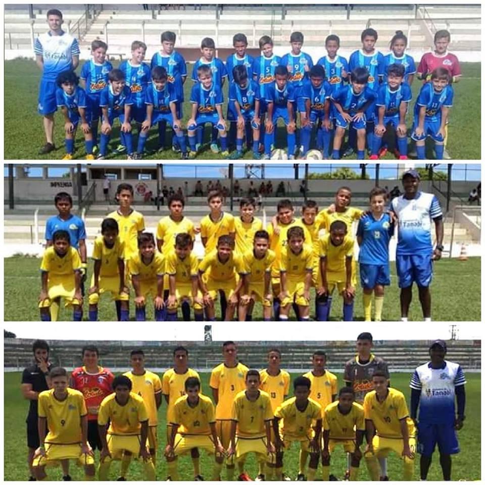 Inédito - Equipes de futebol infantil de Tanabi chegam na final em 3 categorias na Copa AME