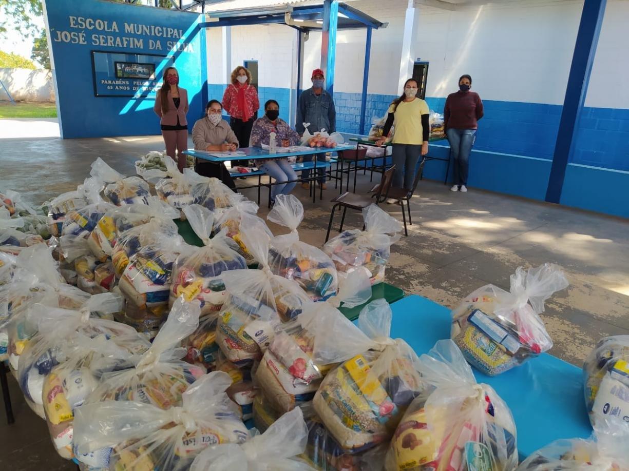 Prefeitura e Educação de Tanabi realizarão segunda entrega de Kits Alimentação a todos os alunos da Rede Municipal de Ensino nos dias 21, 22 e 23