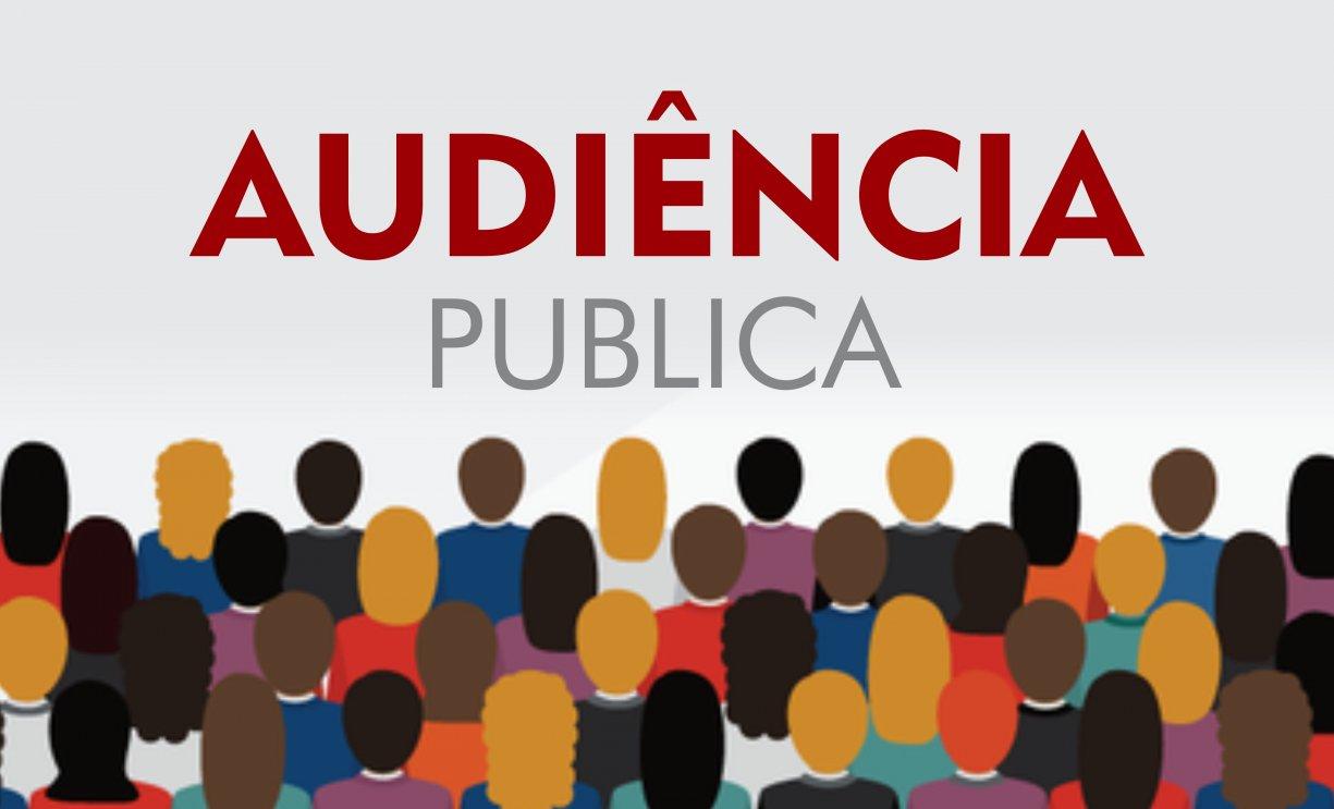 COMUNICADO PARA AUDIÊNCIA PUBLICA