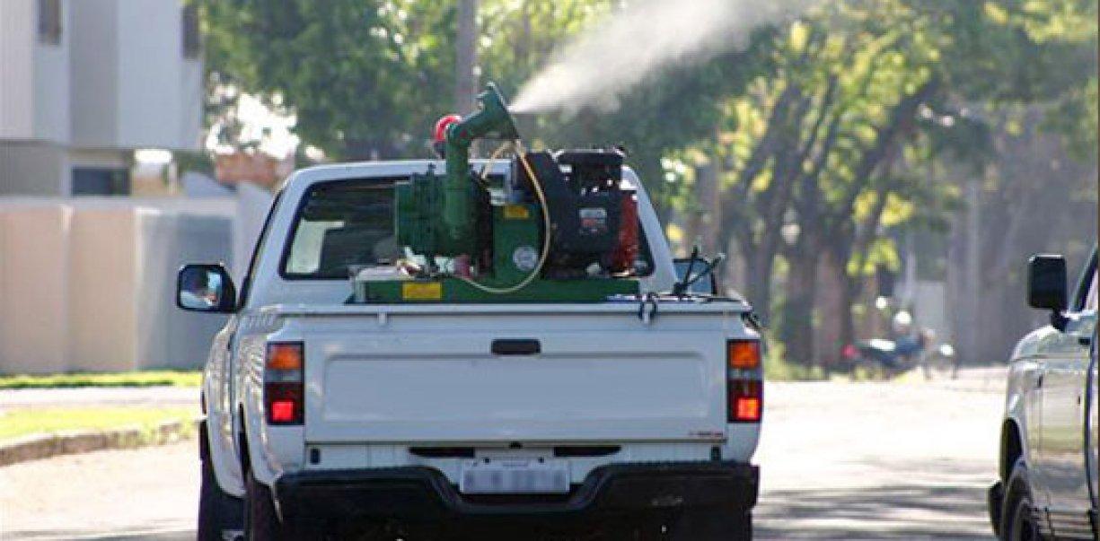 Para combater dengue prefeitura faz aplicação de inseticida no ar a partir de segunda-feira
